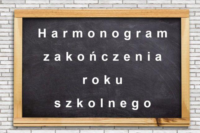harmonogram_zakonczenia_roku