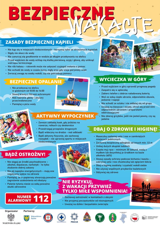 plakat-bezpieczne-wakacje-2021-logotypy